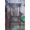Adult Potty Chair - 1890s to 1910  Oak